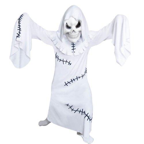 Geist Kostüme (Amscan Ghastly Ghhoul Geist - Kostüm mit Kapuze und Maske)