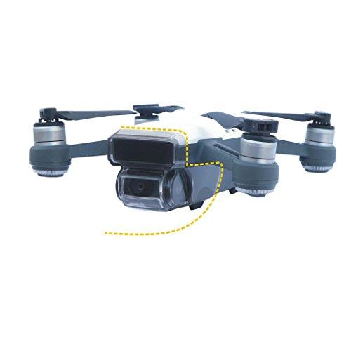 bescita Neuer Sensor Kardanischer Kameraschutz Guard Lock Cover Hood Cap für DJI Spark Drone Guard Hood