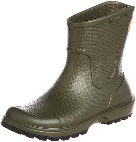 Crocs Wellie Rain Boot, Herren Kalt gefüttert Gummistiefel Halbschaft Stiefel