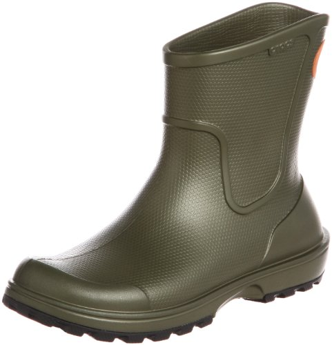 Crocs Wellie, Bottes de pluie homme Vert (Army Green)