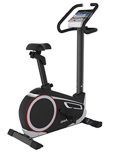 SportPlus Ergometer mit APP-Steuerung & GoogleStreetView • Nutzergewicht bis 150kg • ca. 10kg...