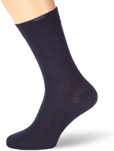 Nur Der Herren Socken 485525/Passt Perfekt 3er Pack, Gr. 43-46, blau (maritim 190)
