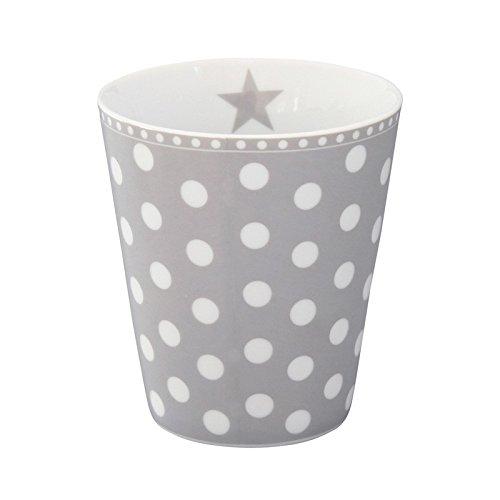 Mug, New dot grey[A]