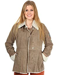 Aeronautica Militare Femmes Veste en cuir Brun PN237D1894-00012