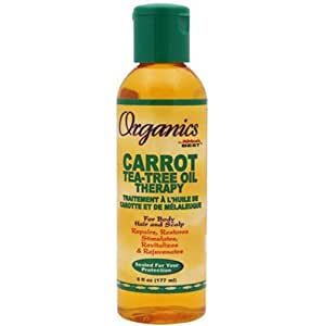 Africa's Best Organics Carrot Tea Tree Oil 180 ml by Africa's Best (English Manual)