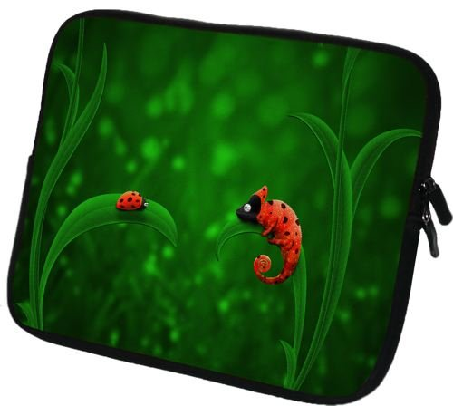 art&cherry Custodia per Tablet Galaxy Tab 3 7.0 da 7 Pollici (in Neoprene, con Cerniera) 403 Gygabte Tegra Note 7