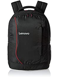 "Lenovo Polyester 15.6"" Black Laptop Backpack"