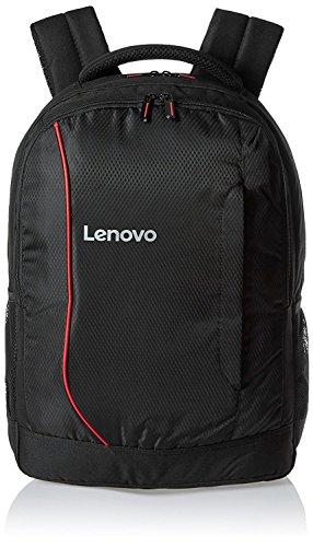 LENOVO Polyester Black Laptop Backpack Laptop Backpacks