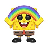 Funko 39552 POP Vinyl: Animation Squarepants S3: Spongebob (Rainbow) Collectible Figure, Multicolour