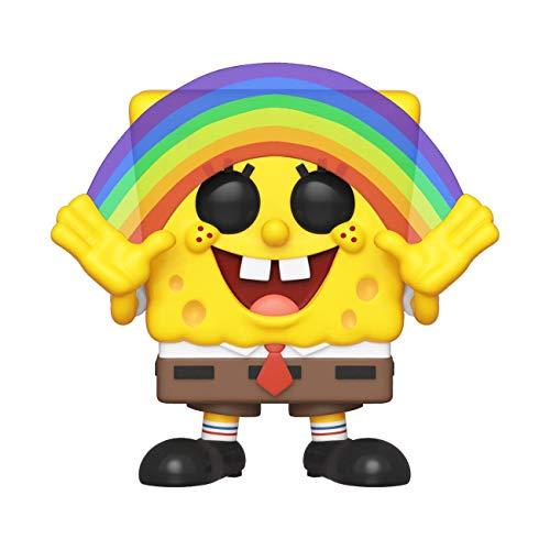 l Squarepants S3: Spongebob (Rainbow) Sammelbares Spielzeug, Mehrfarben ()