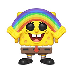 Funko- Pop Vinilo Squarepants S3: Spongebob (Rainbow) Figura Coleccionable, Multicolor (39552)