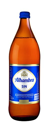 Alhambra Sin Alcohol Botella Cerveza - 1000 ml