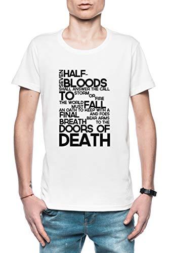 Heroes of Olympus Prophecy Herren T-Shirt Weiß Größe XL - Men\'s T-Shirt White
