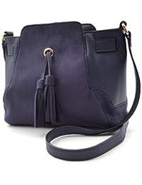 0838c58b6f09d Angkorly - Handtasche Schultertaschen Clutches Taschen Tote bag Bommel  Fransen Vintage Retro BCBG nüchtern für jeden Tag…