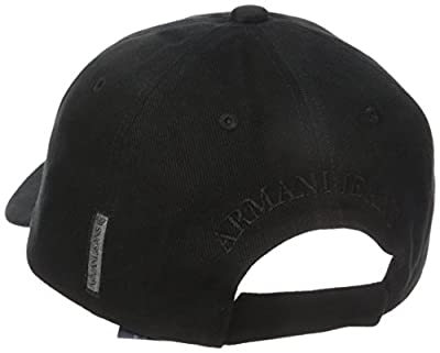Armani Jeans Men's Cotton Logo Eagle Hat