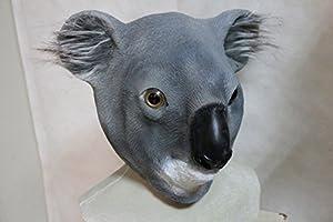 The Rubber Plantation 619219293808 Koala - Máscara de látex con diseño australiano para disfraz de Halloween, adulto unisex, talla única
