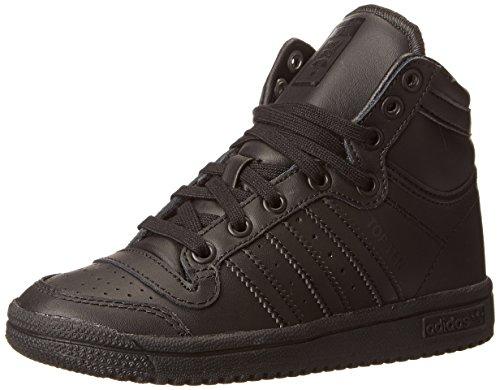 Adidas OriginalsTOP Ten HI C - K - Top Ten Hi C, K Unisex-Kinder, Schwarz (Core Black/Black/Black), 34 EU M Kleines Art