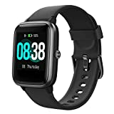 YONMIG Smartwatch, Fitness Armband Tracker Voller Touch Screen Uhr Wasserdicht IP68 Armbanduhr Smart Watch mit Schrittzähler Pulsmesser Stoppuhr Bluetooth Sportuhr für iOS Android Damen Herren