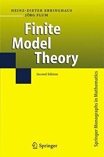 Finite Model Theory (Springer Monographs in Mathematics)