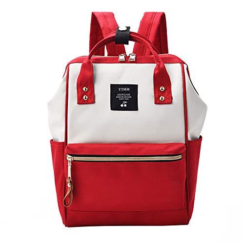 LZH-backpack Mochila de Lona de Gran Capacidad Bolsa versátil de Moda Mochila de Gran tamaño Japonesa...