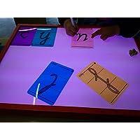 Tavolo luminoso Montessori
