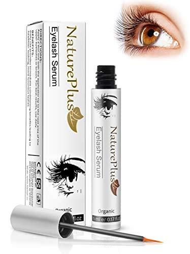 Auge Farbe Pinsel 10 (Wimpernserum Serum - Wimpernserum für ein stärkeres Wimpernwachstum, mehr Dichte und eine sinnlichere, dunklere Farbe der Wimpern (5ML))