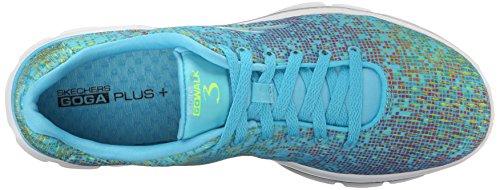 Skechers prestazioni delle donne Go camminata 3 digitize Walking Shoe Blue