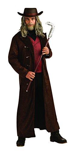 Kostüme Jonah Halloween Hex (Quentin Turnbull Kostüm für Herren Jonah Hex Herrenkostüm Gr. M/L,)