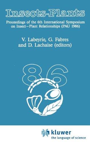 Insects - Plants: International Symposium Proceedings (Series Entomologica)