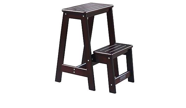 Aidelai scaletta pieghevoli sgabello sgabello pieghevole in legno