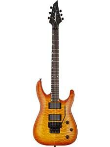 Guitares électriques JACKSON SLATXMGQ3-6 TRANSPARENT AMBER SUNBURST SOLOIST Métal - moderne