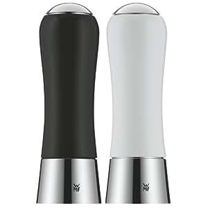WMF 0667049990 Salz- und Pfeffermühlenset 2-teilig, schwarz / weiß