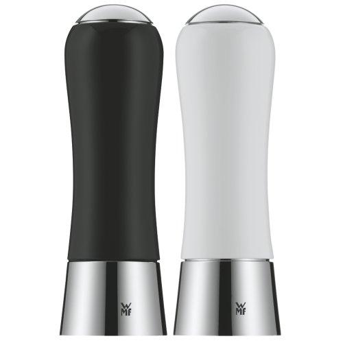 WMF 0667049990 Salz- und Pfeffermühlenset 2-teilig, schwarz/weiß