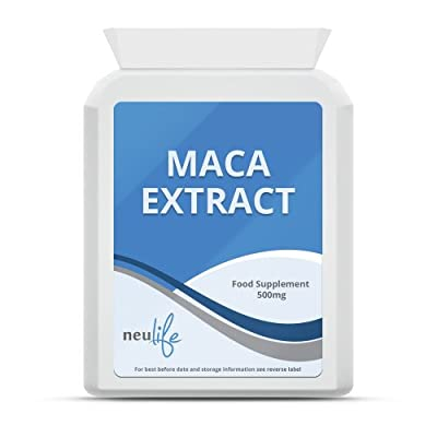 Maca 500mg - 60 Tablets from Neulife Health & Fitness Supplements