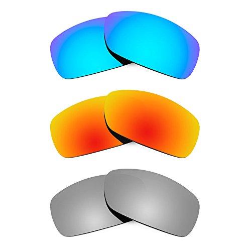 Preisvergleich Produktbild Revant Ersatzlinsen für Ray-Ban RB4057 Polarisiert 3 Paar Kombipack K014