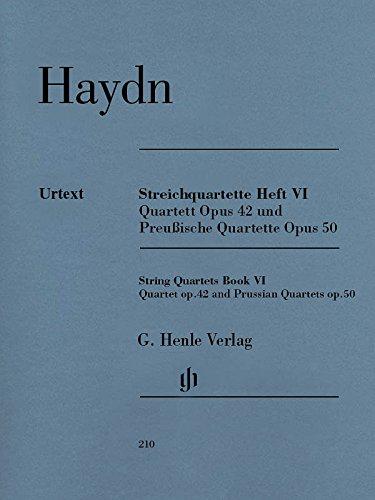 Streichquartette Heft VI op. 42 und 50