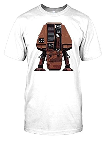 Silent Running - Valley Forge Drone Mens T Shirt - white - Men 50-52