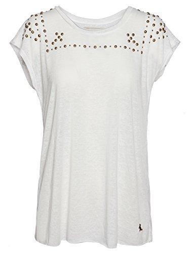 Mogul Damen T-Shirt Fallou Burnout Artikel-Nr.16110306- 7091 Off White