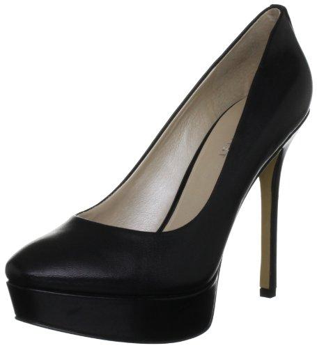 41kECW9wM%2BL Nine West Womens Fortonight Black Platforms Heels 3330300109 5 UK