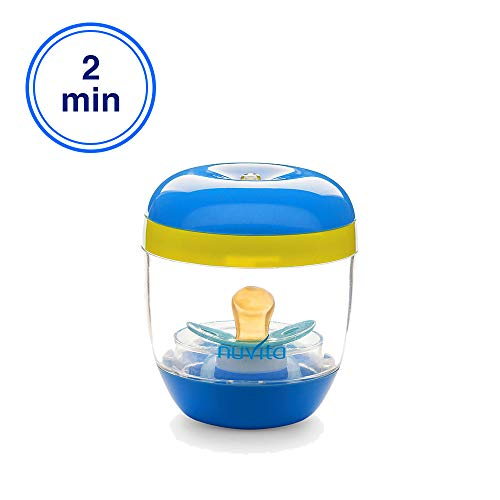 Nuvita 1556 MellyPlus UV Sterilisator | Säuglingspflege | Tragbarer Babyflaschen Sterilisator | UV Desinfektion | Sterilisationsgerät für Unterwegs | BPA Frei | EU Marke