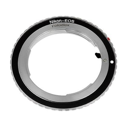 Fotodiox 10NKFEOSC2B cable para cámara fotográfica, adaptador - Adaptador para objetivo fotográfico (Negro)