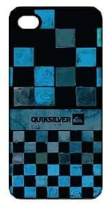 Coque arrière rigide pour iPhone 5 - QUIKSILVER - Design Echecs bleus