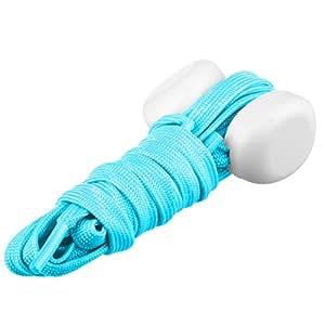 Lilware Dare To Be Visible Shoelaces Lacci per Scarpe con luce Lampeggiante LED. Colore Blu