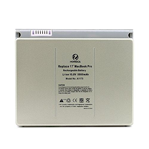 HONGCA® Ultra Hochleistung [Li-Polymer 5800mAh/60Whr] Laptop Ersatz Akku für Apple A1175 A1150...