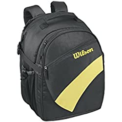 Wilson Back Pack Bkye - Mochila, color negro / amarillo, talla NS