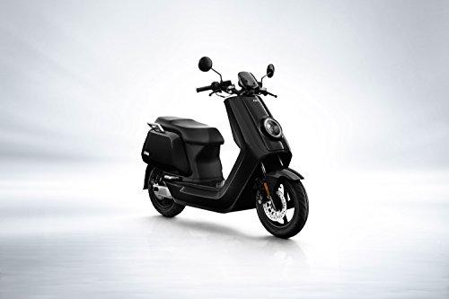 RollingBull®, scooter elettrico NIU N1S con batteria agli ioni di litio Panasonic, autonomia fino a 80 km, motore Bosch e velocità massima di 45 km/h, biposto, nero