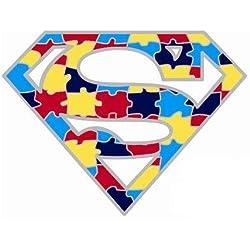 Autismo Superman conciencia Pin de solapa