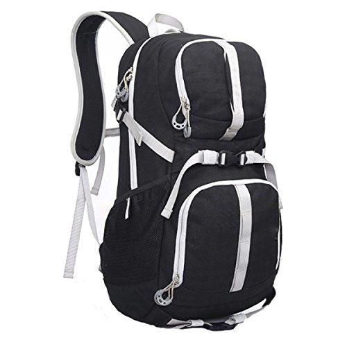 Camminare Campeggio Viaggi Tempo Libero Zaino Sport All'aria Aperta Black