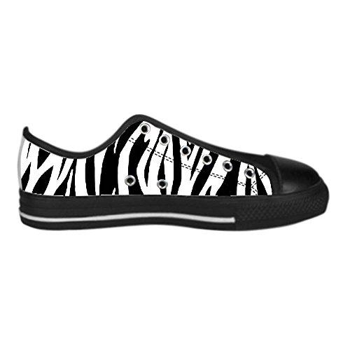 Dalliy zebra stripe Men's Canvas shoes Schuhe Lace-up High-top Sneakers Segeltuchschuhe Leinwand-Schuh-Turnschuhe B