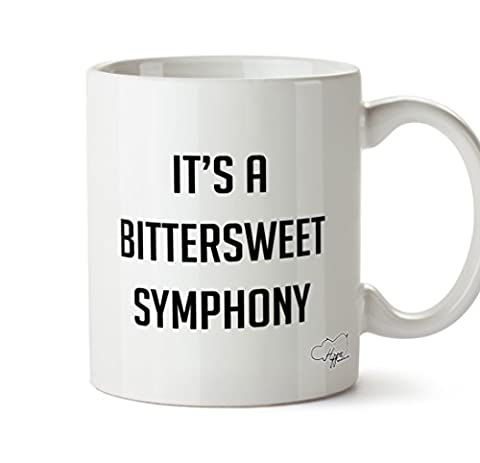 HippoWarehouse It's a bittersweet symphony 10oz Mug Cup